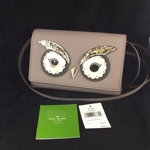 🆕 Kate Spade ♠️ Owl Summer Crossbody Purse NWT